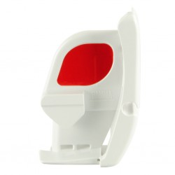 Lead Bar End Cap Left Polar White