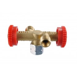 Branch Valve with 2 Outlets