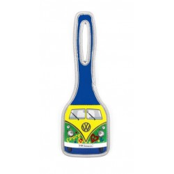 VW T1 BUS LUGGAGE TAG - PEACE
