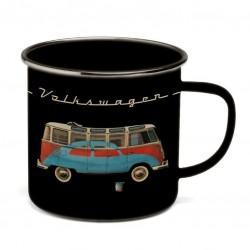 VW T1 BUS BECHER EMAILLIERT...