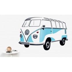 Αυτοκόλλητο τοίχου VW T1...