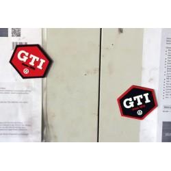 VW GTI RUBBER MAGNET 2pc...