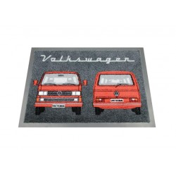 VW T3 BUS DOORMAT - FRONT &...