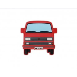 VW T3 BUS RUBBER MAGNET -...