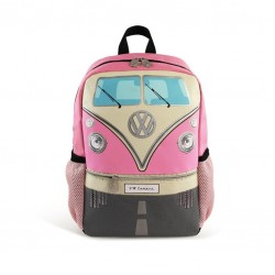 VW T1 BUS BACKPACK SMALL- PINK