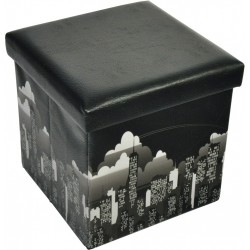 storage box/ storage ottoman, New York design