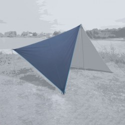 Canvas Plain Sepia Blue