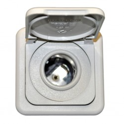 Socket 12 V Light Grey