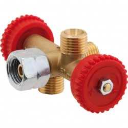 Branch Valve with 3 Outlets