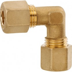 Angle Brass Fitting Type W
