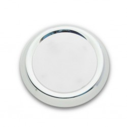 LED Surface-Mounted Spotlight with Milk Glass