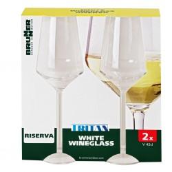 White Wine Glass 420 ml 2-Piece Set