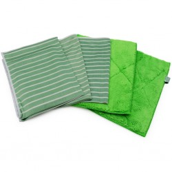 Bamboo Cleaning Cloths Set