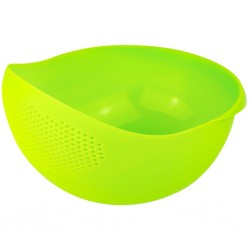 bowl with integrated sieve