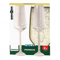 Champagne Glass 250 ml 2-Piece Set