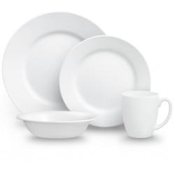 Corelle Tableware Set Dazzling White, 16 Pieces
