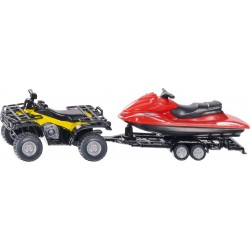 Quad with Trailer and Jet-Ski