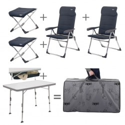 Chair/Table Set with Footrest, Padded