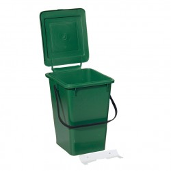 Trash Can with Fastening Strip 8 l
