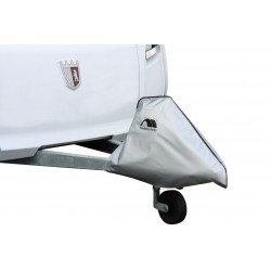 Foil Tow Bar Cover, Silver-Grey
