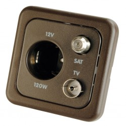 Combo Socket Brown