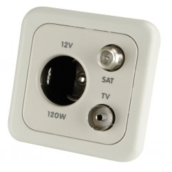 Combo Socket Light Grey