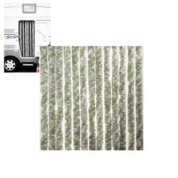 Κουρτίνα Πόρτας 56x205 πρασινη/γκρι/ασπρη
