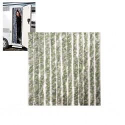 Κουρτίνα πόρτας 56x175 πρασινο/γκρι/ασπρο