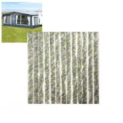Κουρτίνα Πόρτας 100Χ205 πρασινη/γκρι/ασπρη