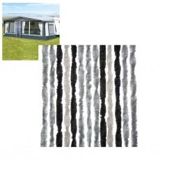 Κουρτίνα πόρτας 100Χ205 γκρι ανθρακι