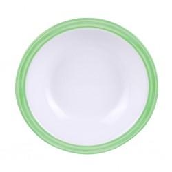 Πιάτο σούπας Bistro 16.5 cm πράσινο