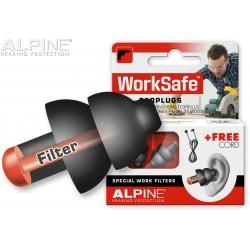 Ωτοασπίδες για εργασία/κυνήγι/σκοποβολή ALPINE WORKSAFE