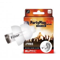 Ωτοασπίδες για μουσική ALPINE PartyPlug Pro Natural