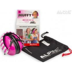 Ωτοασπίδα παιδική (ακουστικά) Muffy Alpine Ροζ
