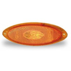 LED Side Marker Light Frame yellow transparent