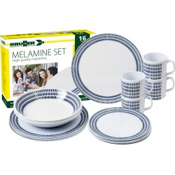Melamine Set Bluebay (16pz)
