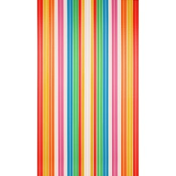 Stripe Curtain Coulored