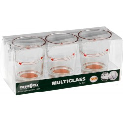 Set Multiglass Cosmic (3pz)