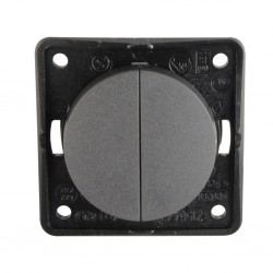 Integro Flow Series Switch Anthracite Matt
