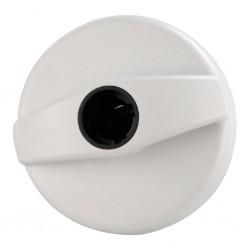 Filler Cap Lock STS White