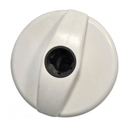 Filler Cap Lock STS White
