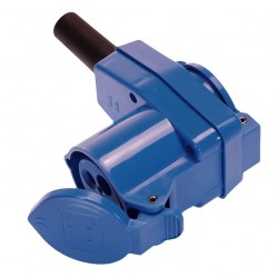 CEE Angle Coupling Blue