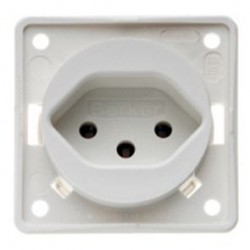 Integro Socket Switzerland White Matt