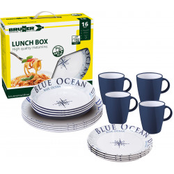 Lunch Box Blue Ocean...