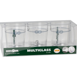 Set Multiglass Nautical (3pcs)