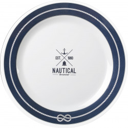 Dinner plate Nautical