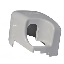 Right Hand End cap F45Ti, white