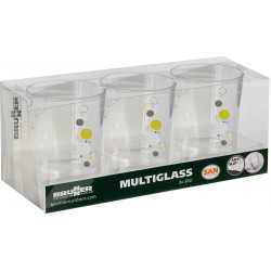 Set Multiglass Space (3pcs)
