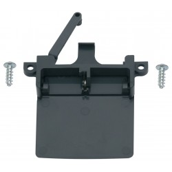 Latch incl. Lock for Thetford Refrigerators, Black, 629744-90