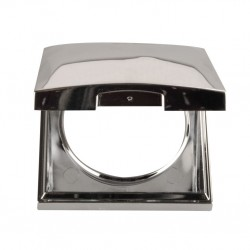 Integro Flow Hinged Lid Shiny Chrome